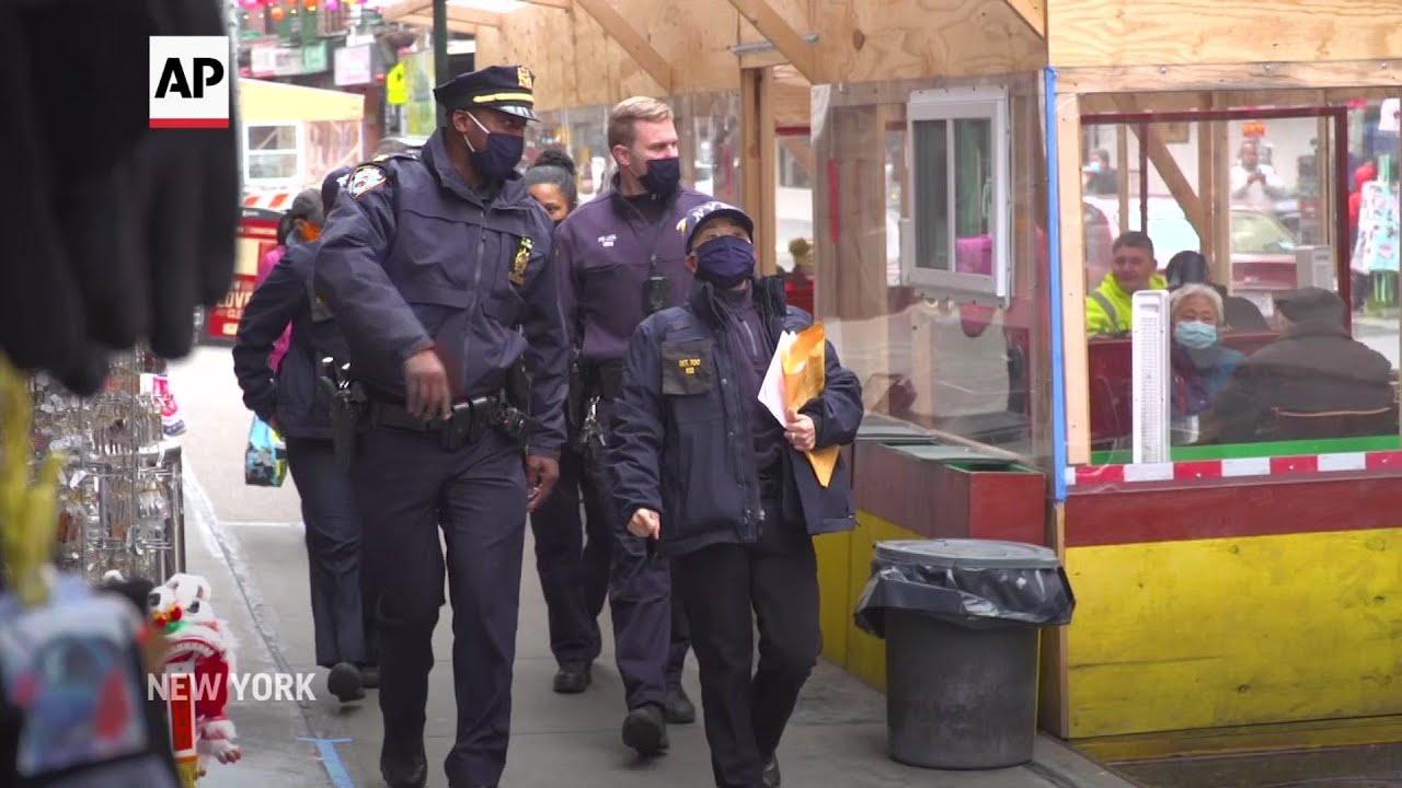 NYPD ups patrols after Georgia shootings