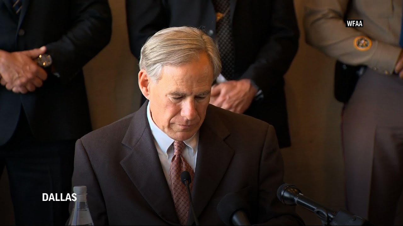 Texas governor blames open border policy for surge