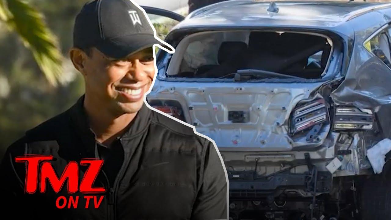 Tiger Woods Home from Hospital After Car Crash   TMZ TV