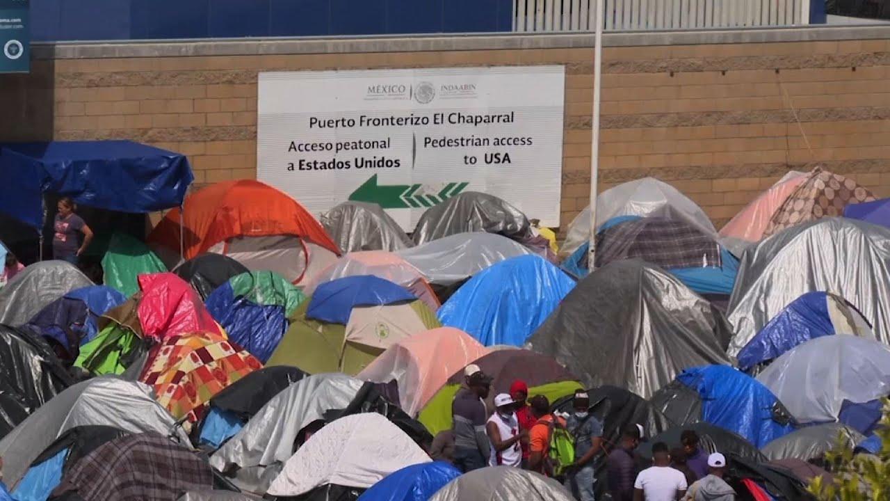 New asylum seeker camp appears in Tijuana