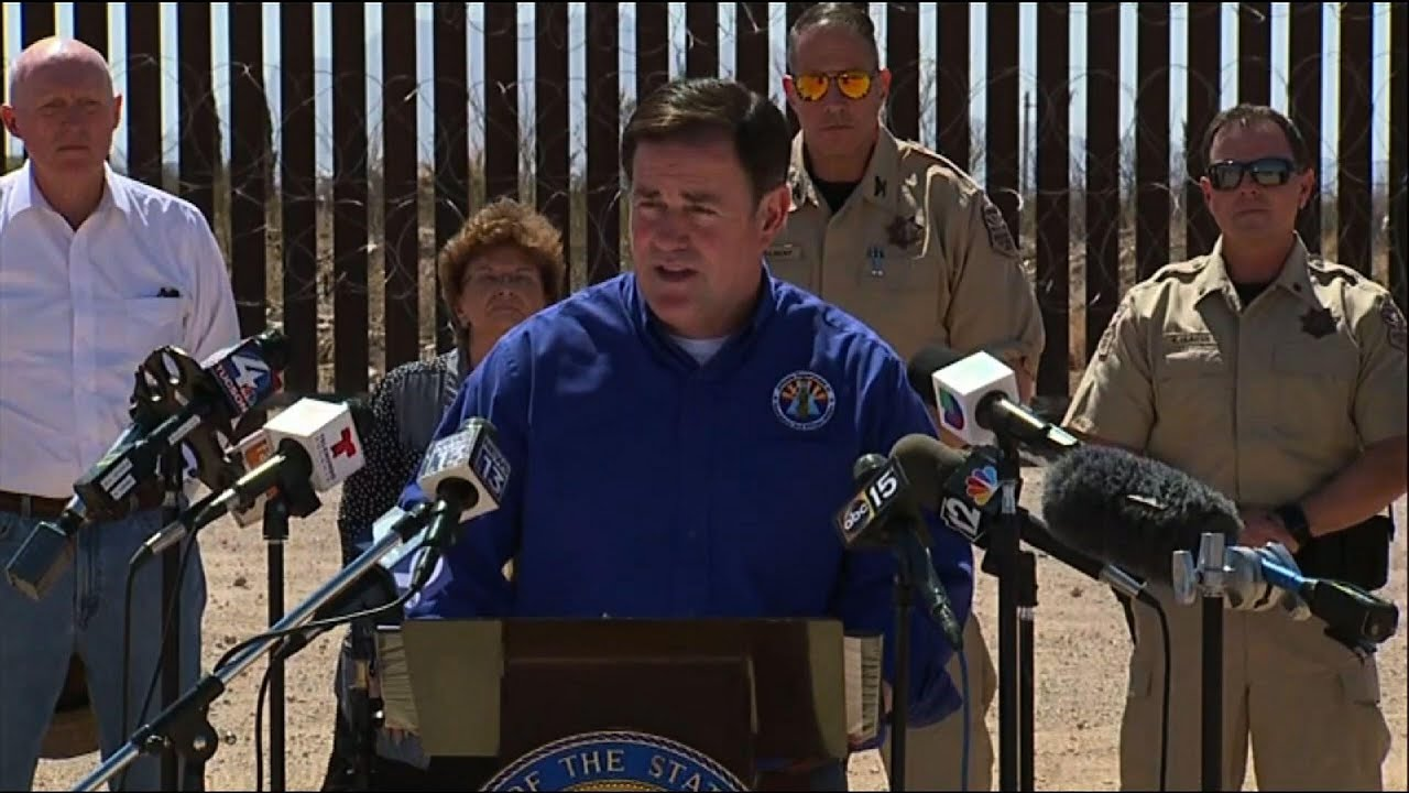 Arizona Gov., GOP lawmaker assail US border policy