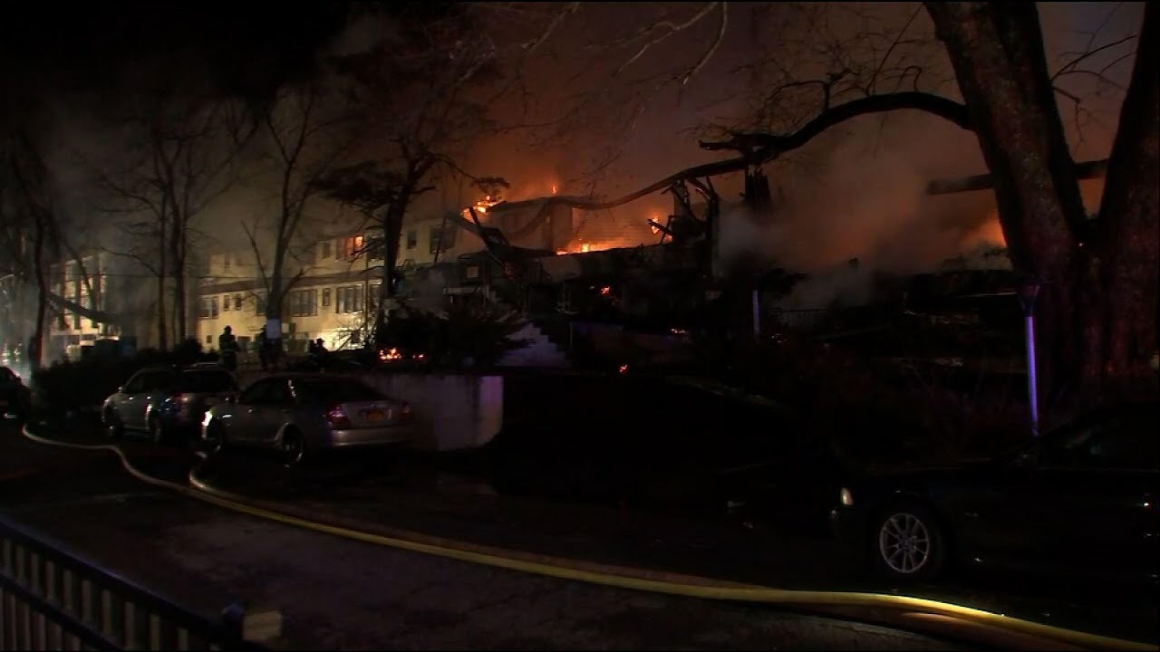 Massive fire at NY state assisted living facility