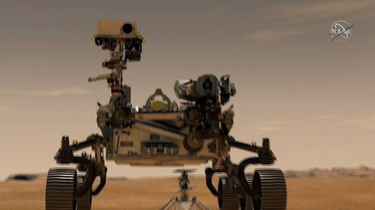 NASA discusses Mars mission, helicopter