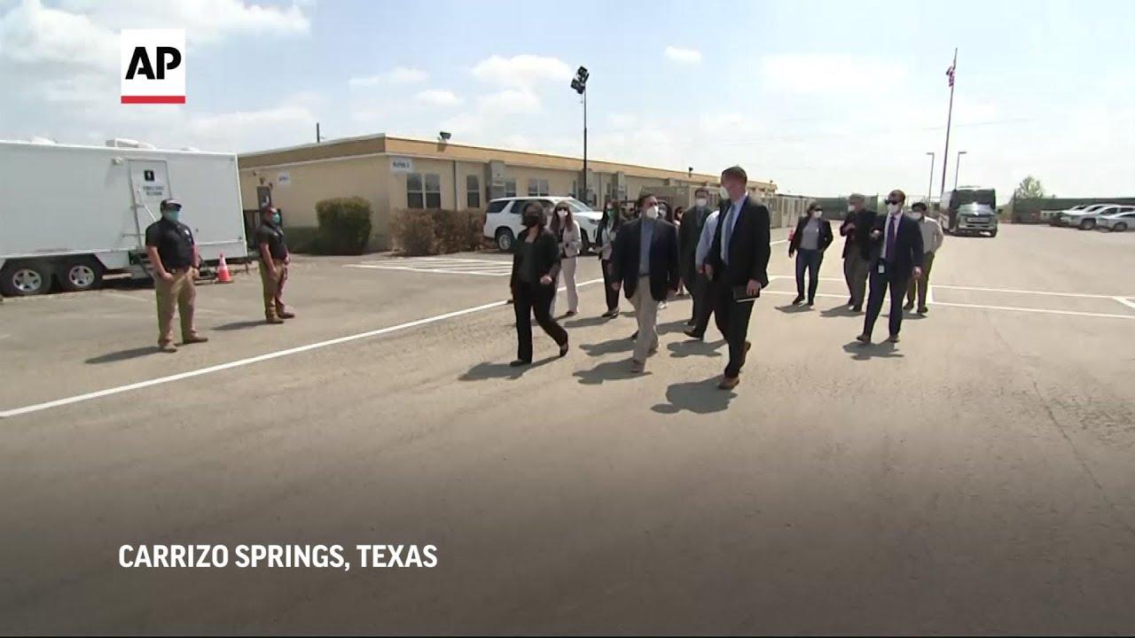 Congressional tour of Texas border facility