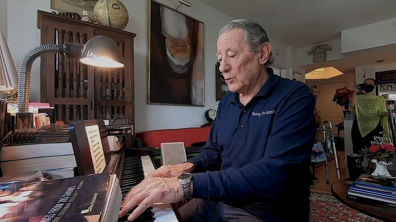Senior couple connects community through music