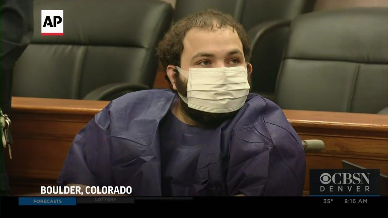 Colorado supermarket shooting suspect in court