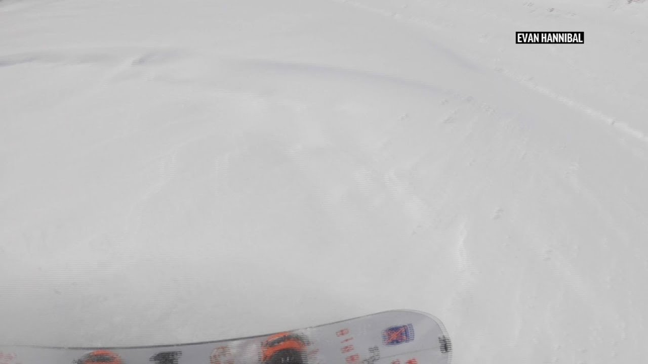 Snowboarders escape big avalanche, but not the law