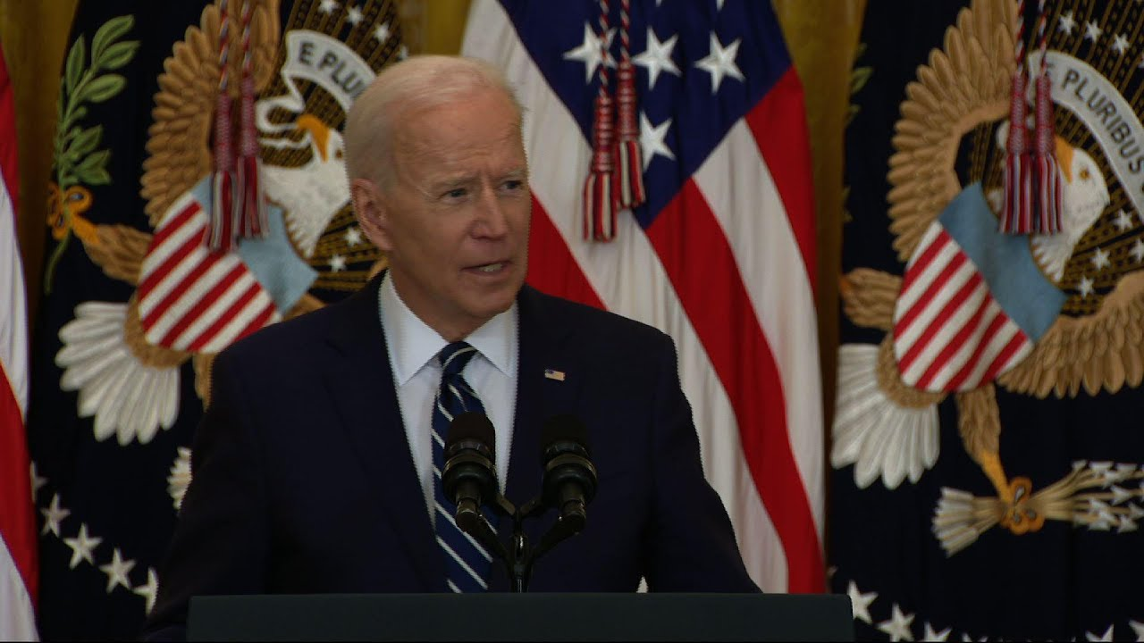 Biden pledges to administer 200M shots in 100 days