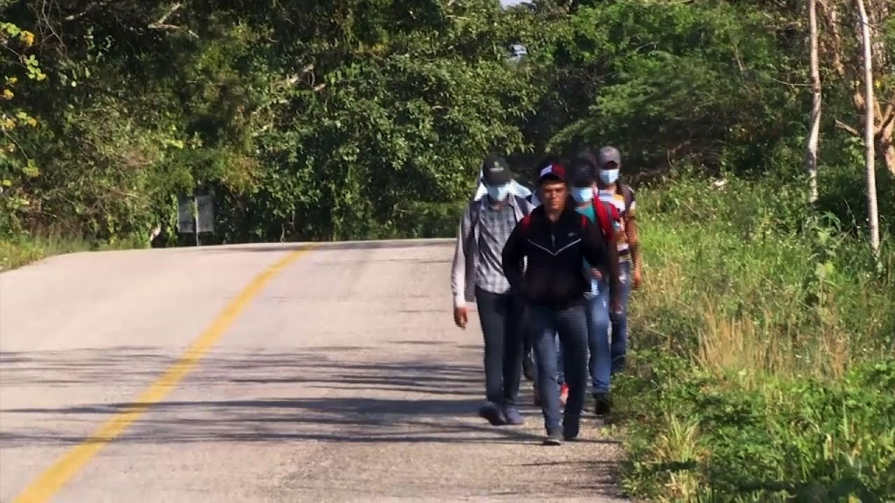 Mexico reports increase in migrants