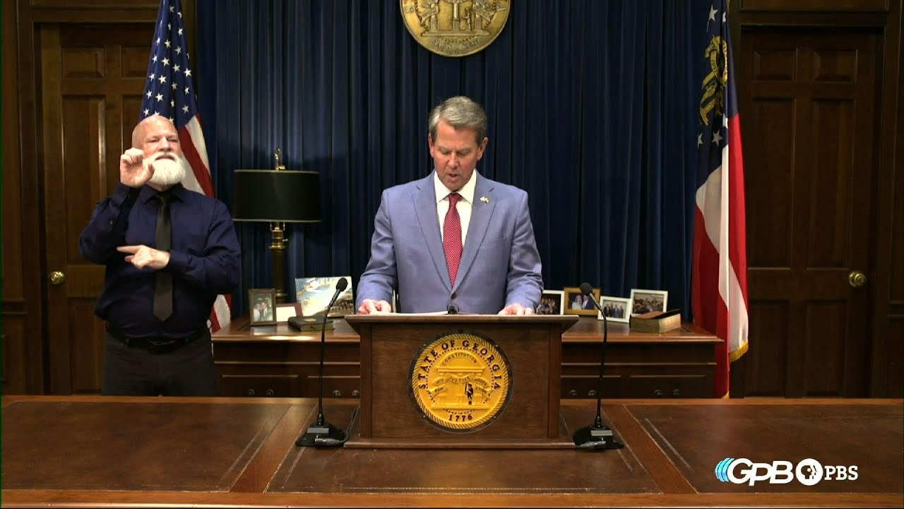 Georgia governor signs GOP elections bill