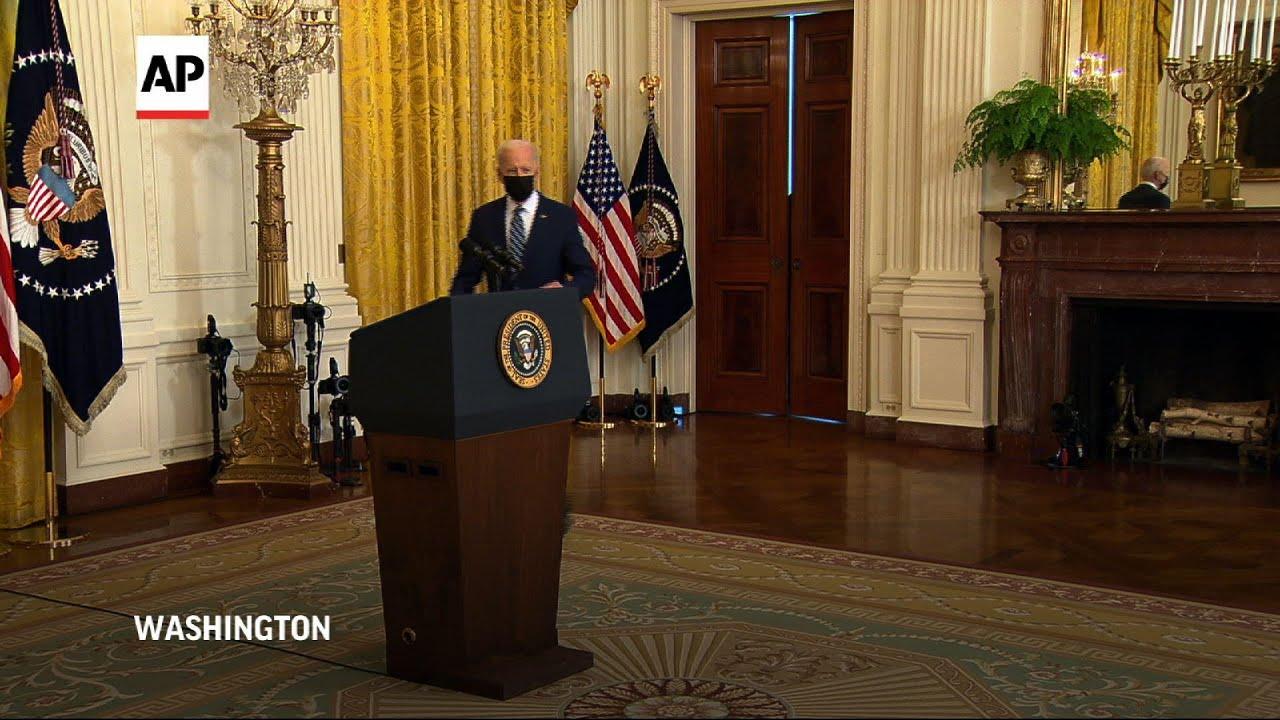 Biden pressed on filibuster reform, border issues