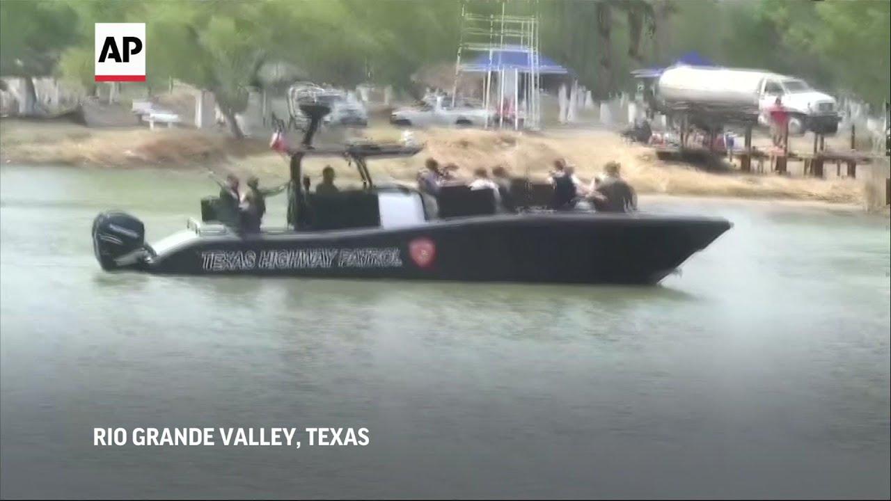 GOP senators tour US southern border facilities