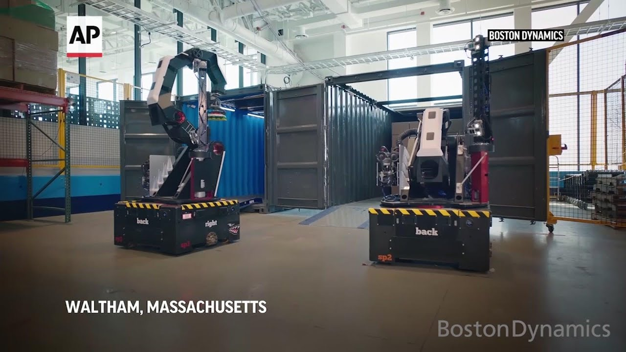 Boston Dynamics unveils Stretch, a warehouse robot