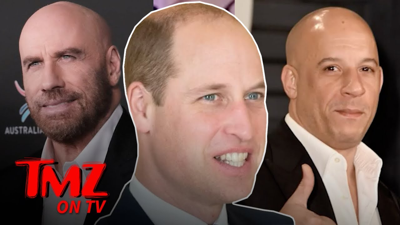 Prince William Named Hottest Bald Man Alive | TMZ TV