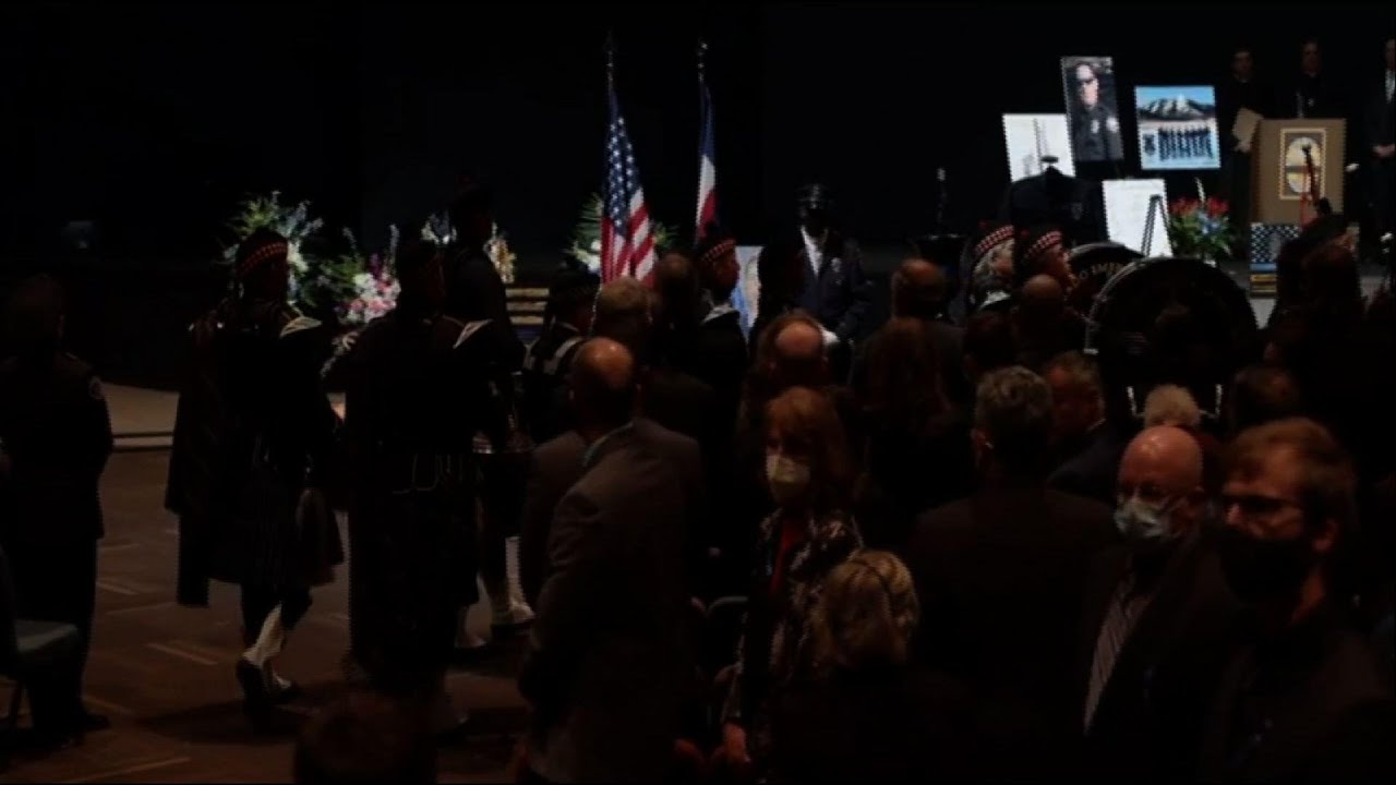Tributes for slain Colo. officer at memorial service