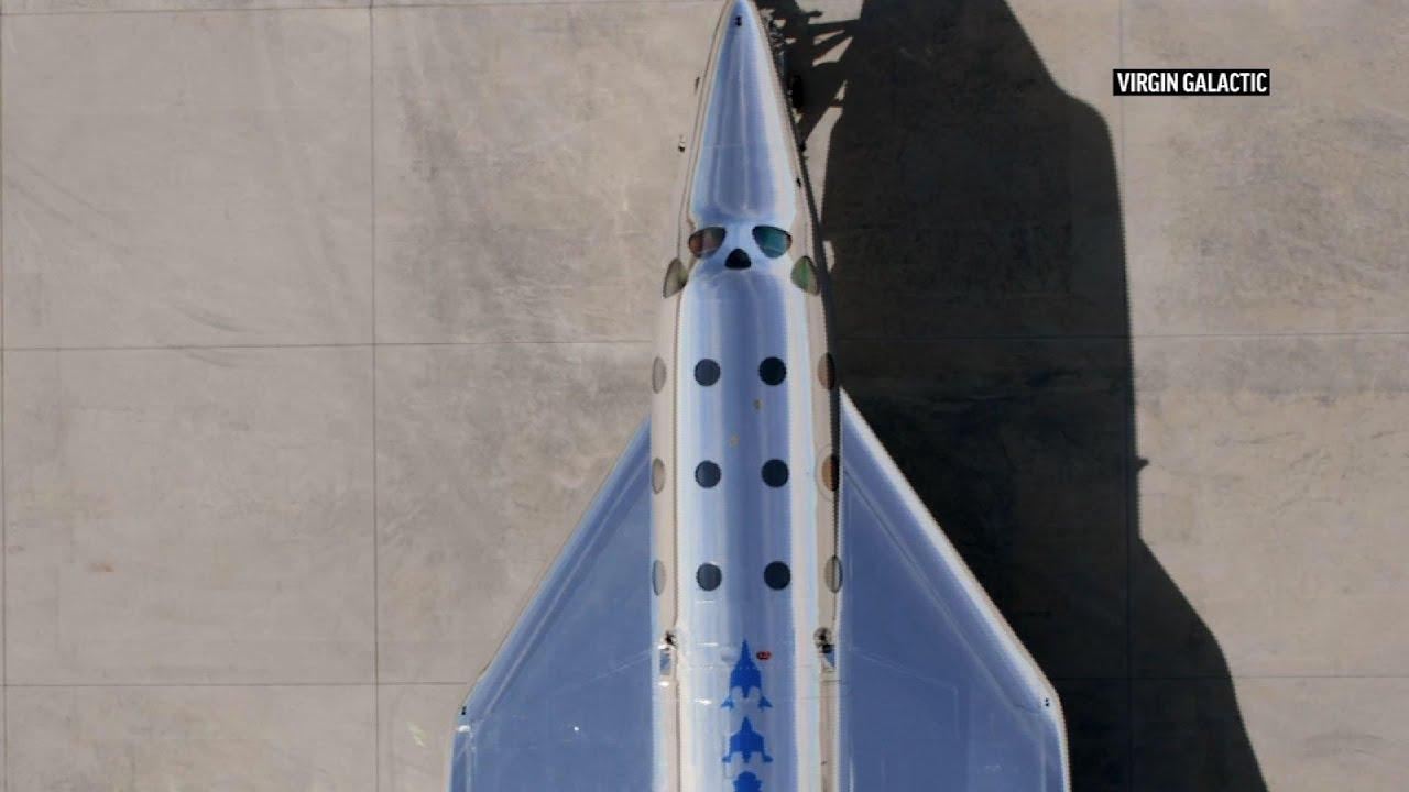 Virgin Galactic to start testing latest spaceship