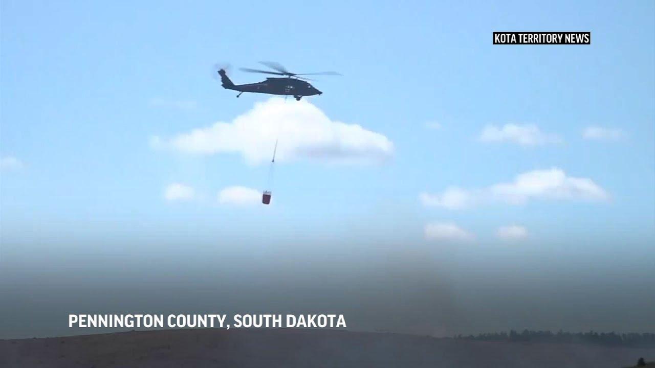 Crews battling Black Hills fires gaining control