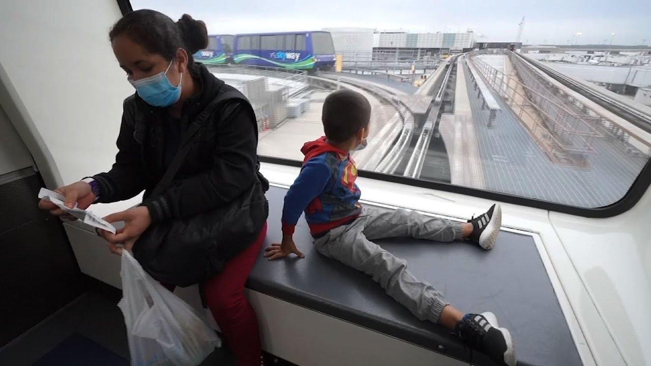 Honduran family reunites after border detention