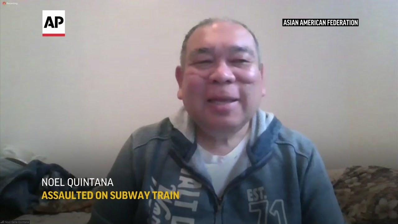 Asian American man recalls attack in NYC subway