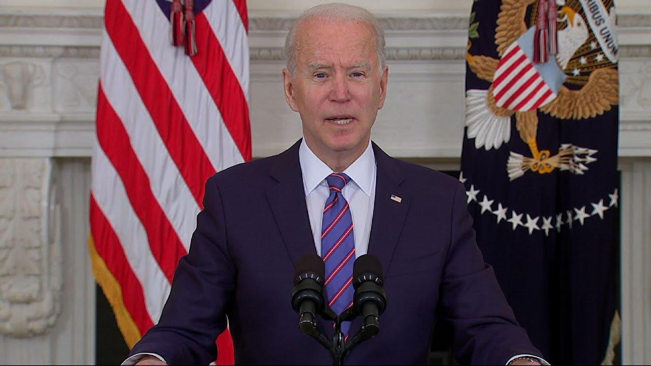 Biden credits American people for jobs numbers
