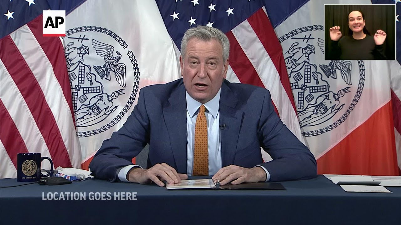 NYC mayor: Record numbers of vaccines administered