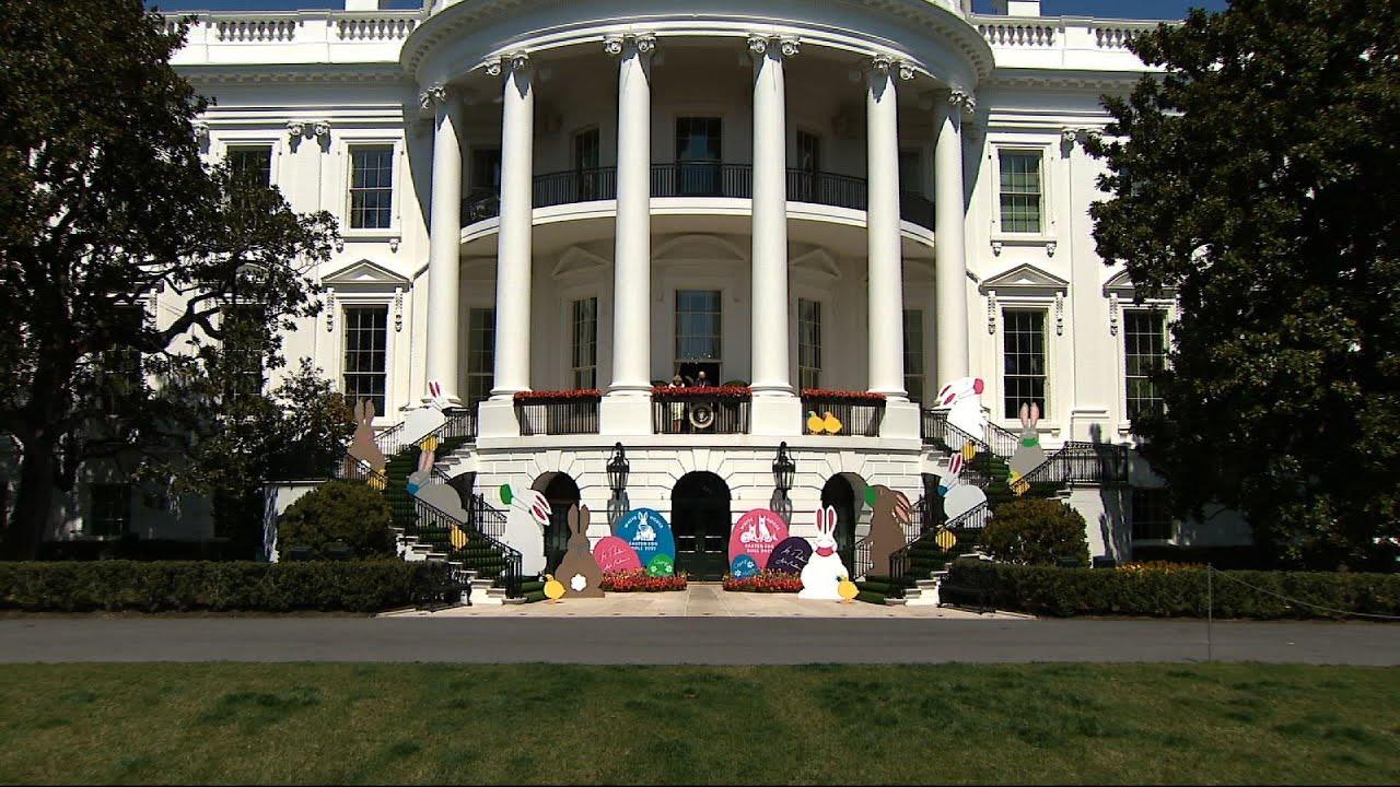 White House celebrates Easter virtually