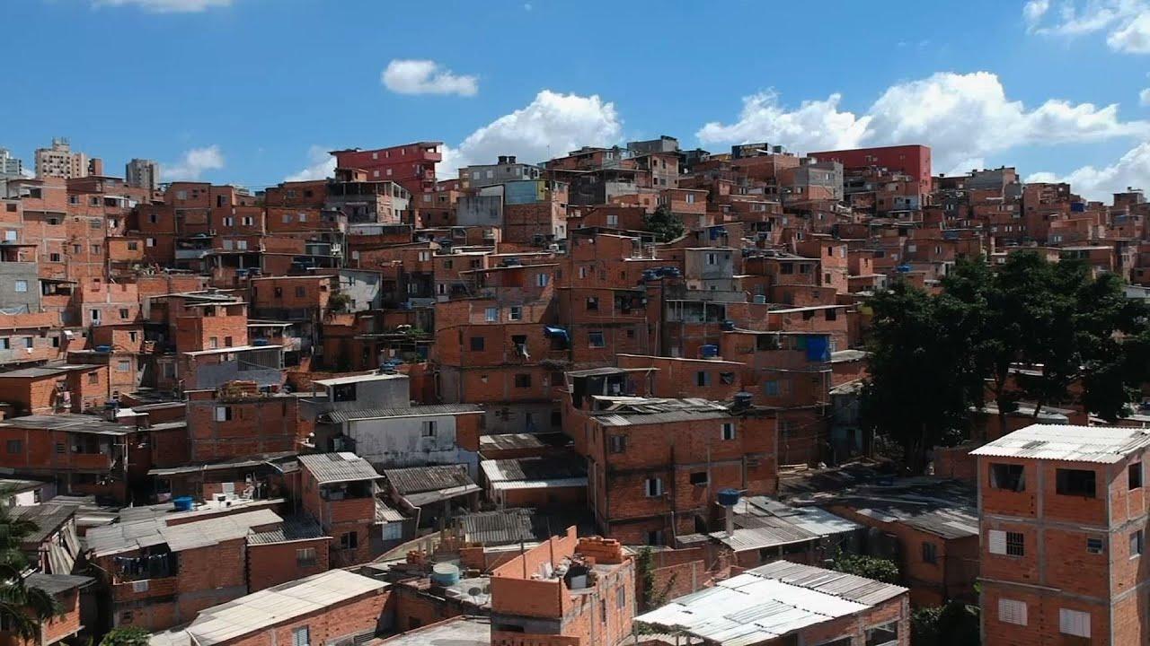 Brazil favela residents protest hunger,  pandemic response