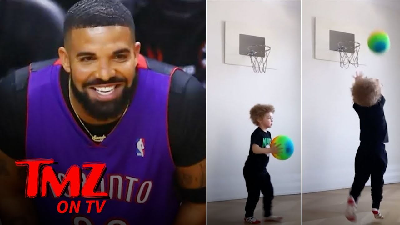 Drake's Son, Adonis, Is Already A Baller! | TMZ TV