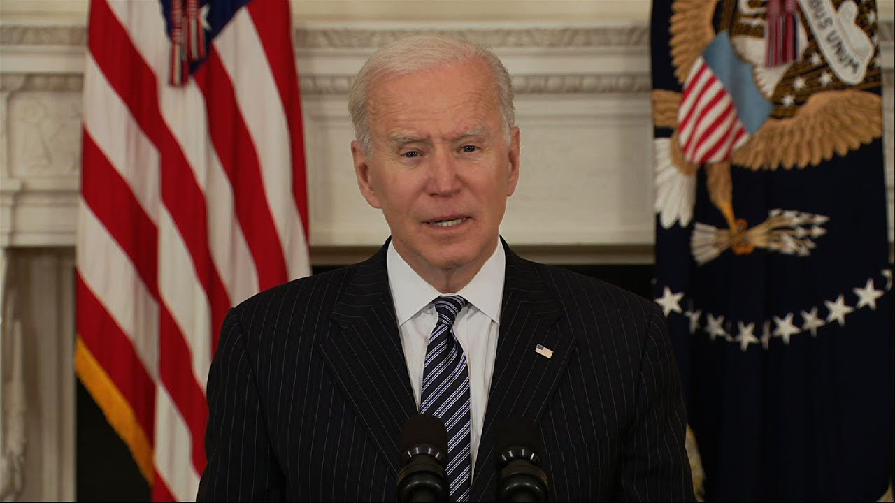 Biden: All US adults eligible for vaccine April 19