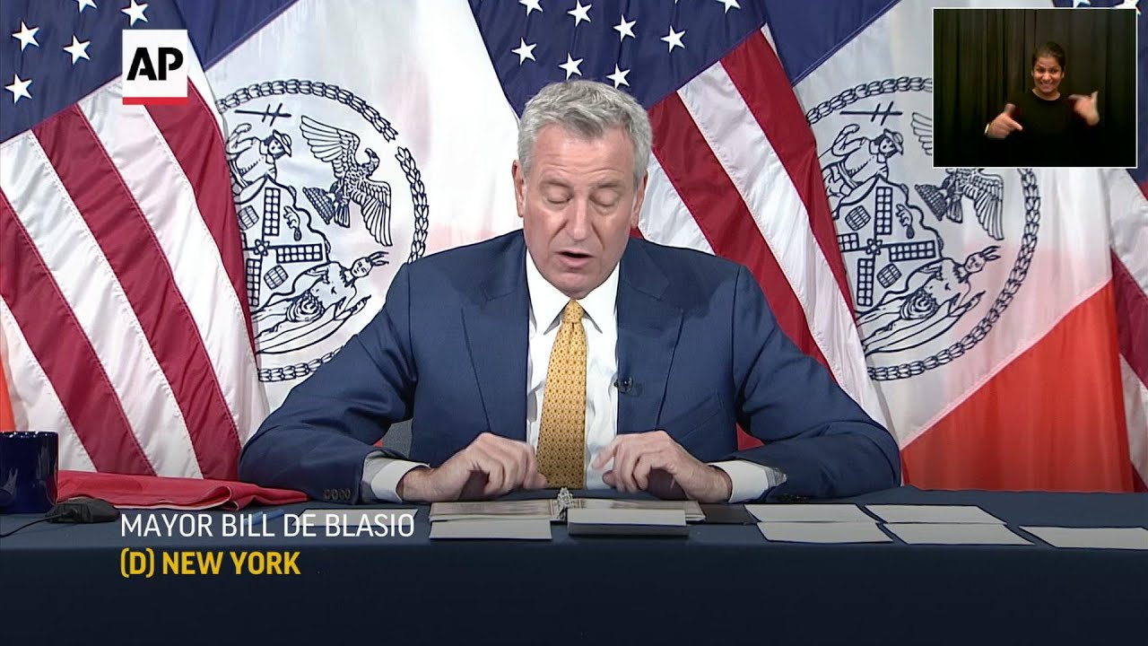 NYC mayor: Beaches, pools to open this summer
