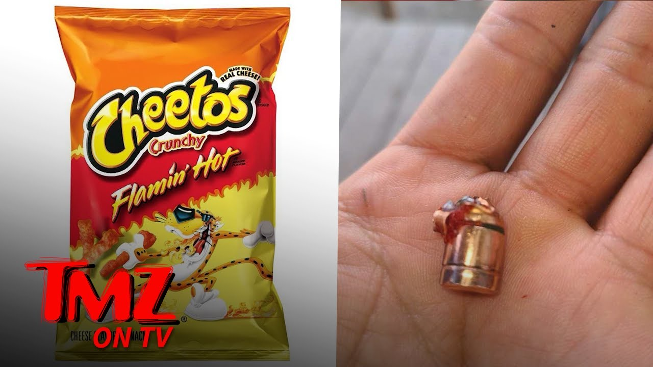 6-Year-Old Boy Allegedly Finds Bullet In Hot Cheetos, Frito Lay Calls It Troubling | TMZ TV