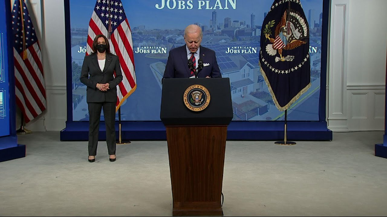 Biden: Inaction on infrastructure 'not an option'