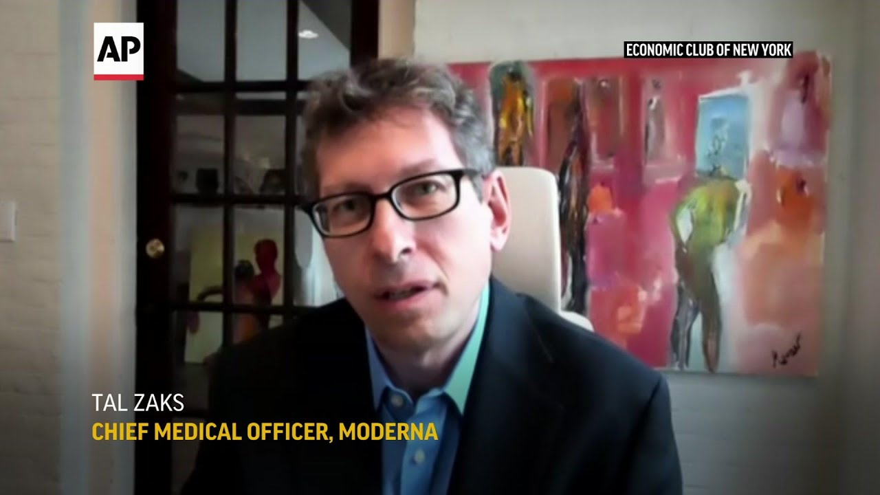 Moderna chief reflects on vaccine development