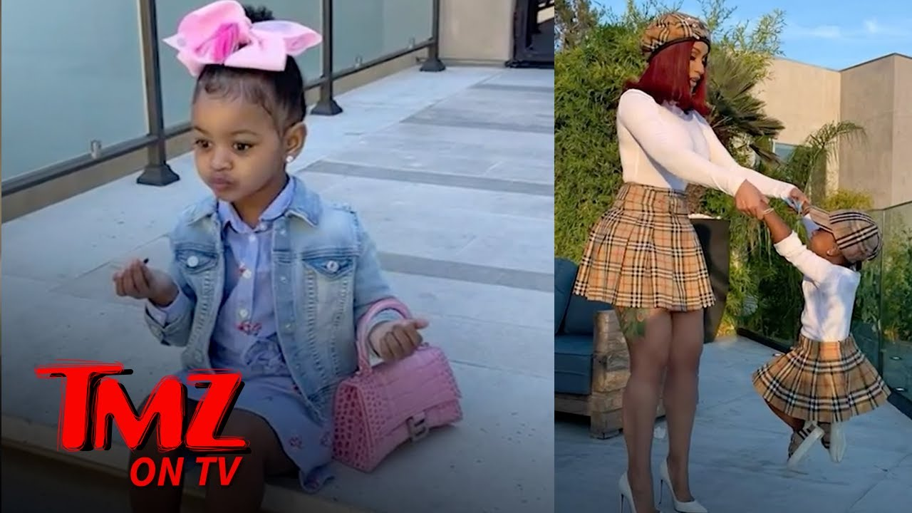Cardi B Buys Her 3 Year Old Three Chanel Bags   TMZ TV