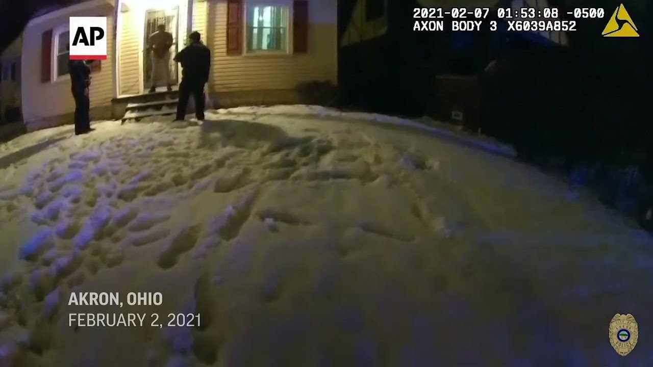 Officer who stuffed snow in man's mouth quits