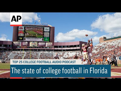 The state of college football in Florida | AP Top 25 Podcast