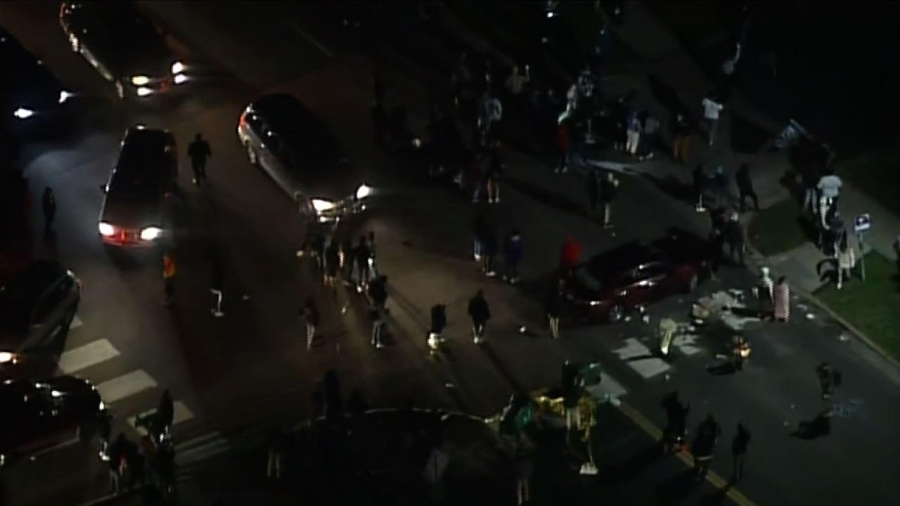 Protests near Minneapolis after police shooting
