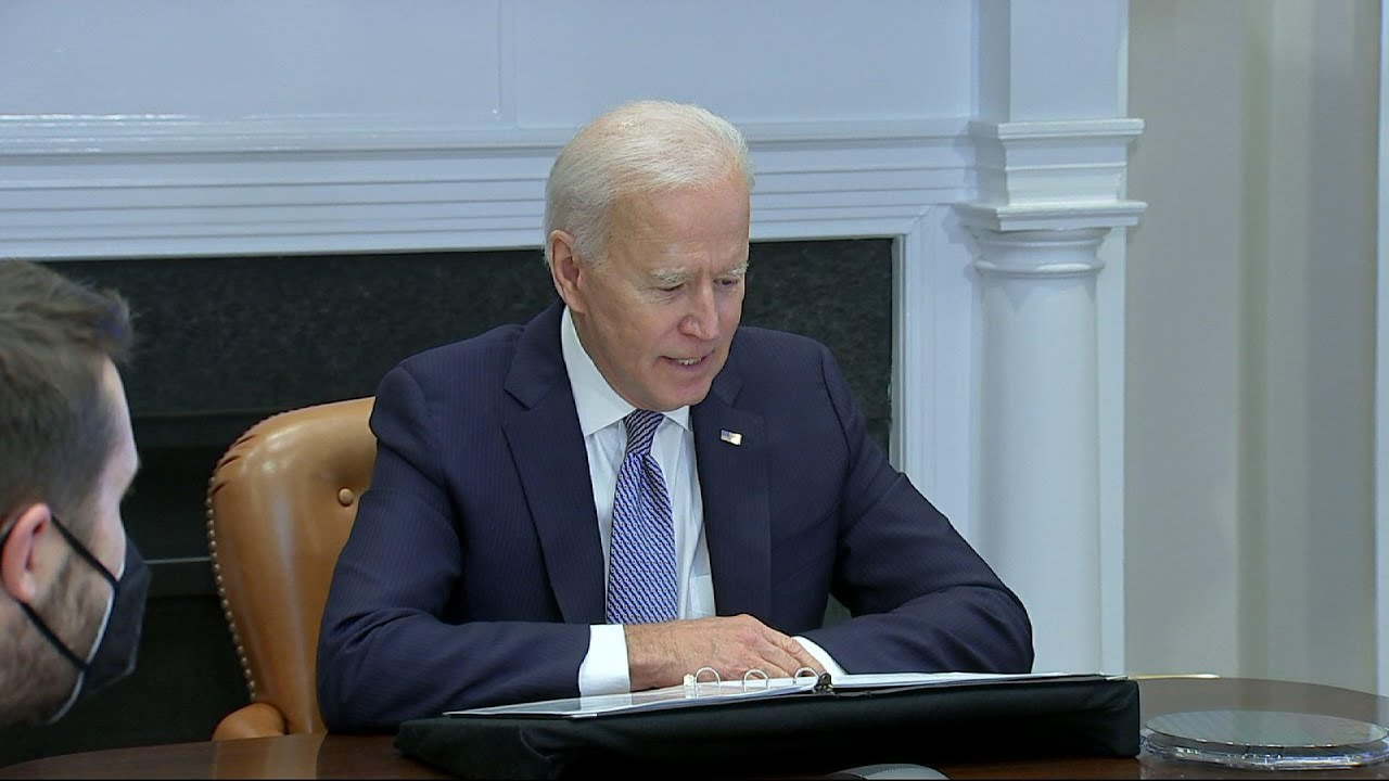 Biden urges CEOs to 'step up' game on supply chain