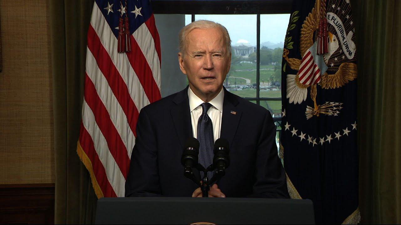Biden ends Afghan 'forever war' for US troops