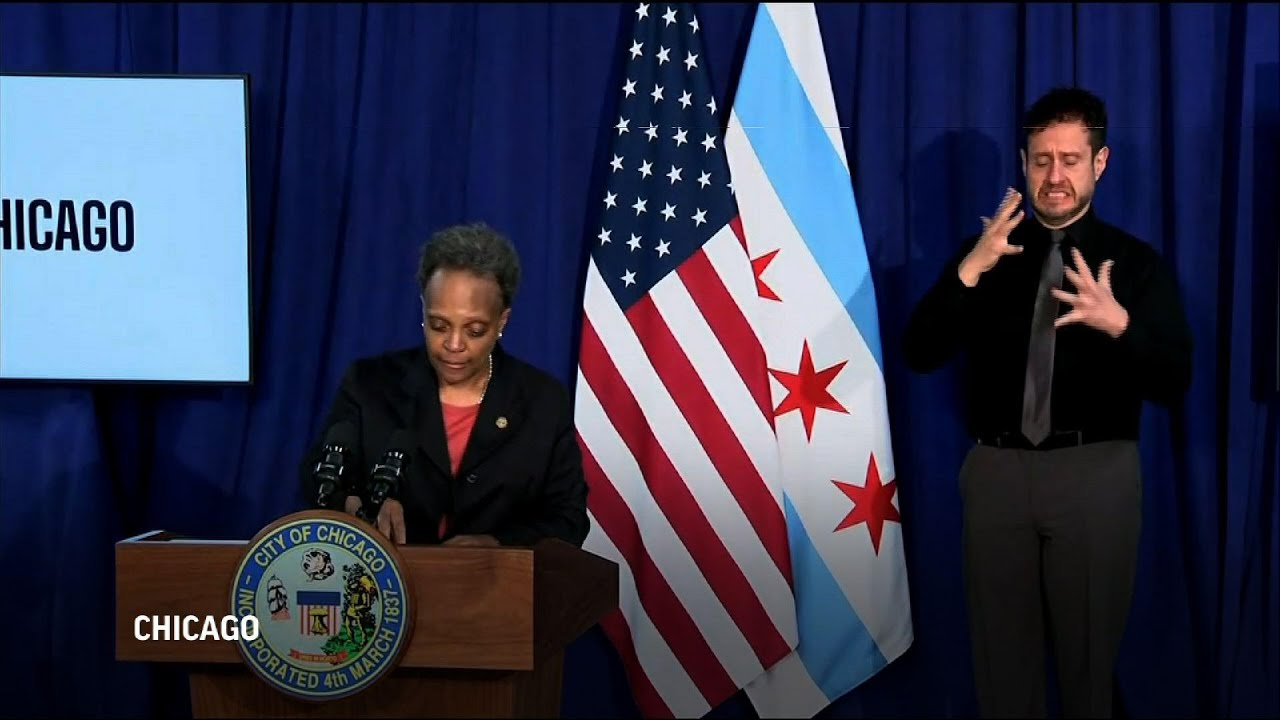 Chicago mayor urges calm as police video released
