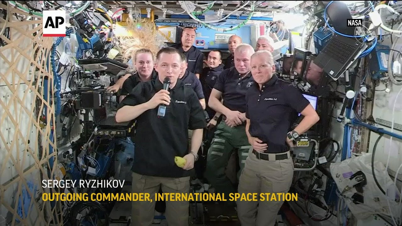 Houston native takes command of ISS
