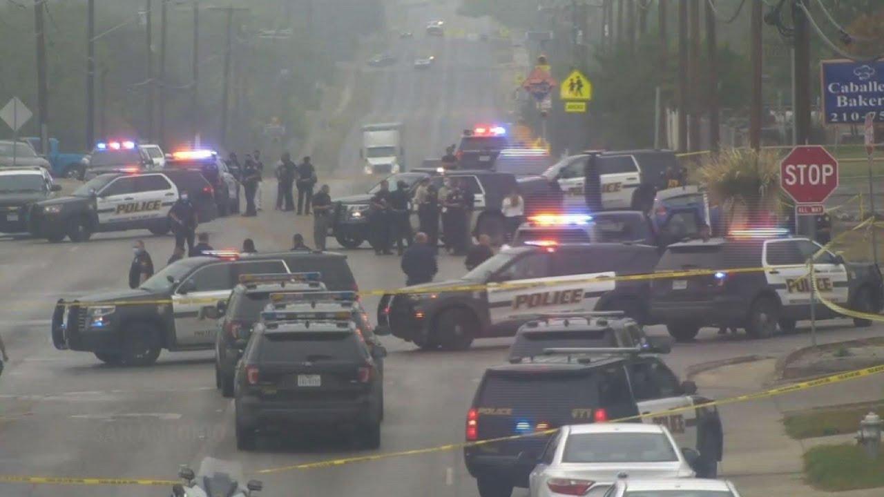 2 killed, officer injured in San Antonio shooting