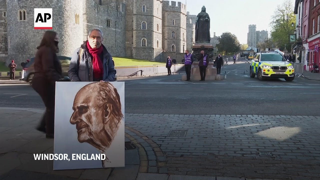 Windsor town prepares for funeral of Prince Philip