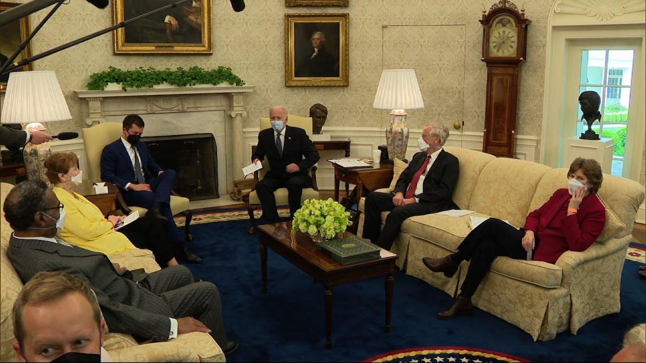 Biden: 'Prepared to compromise' on infrastructure