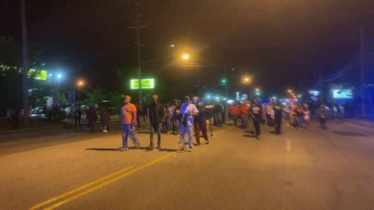 Protest in North Carolina after deputy kills man