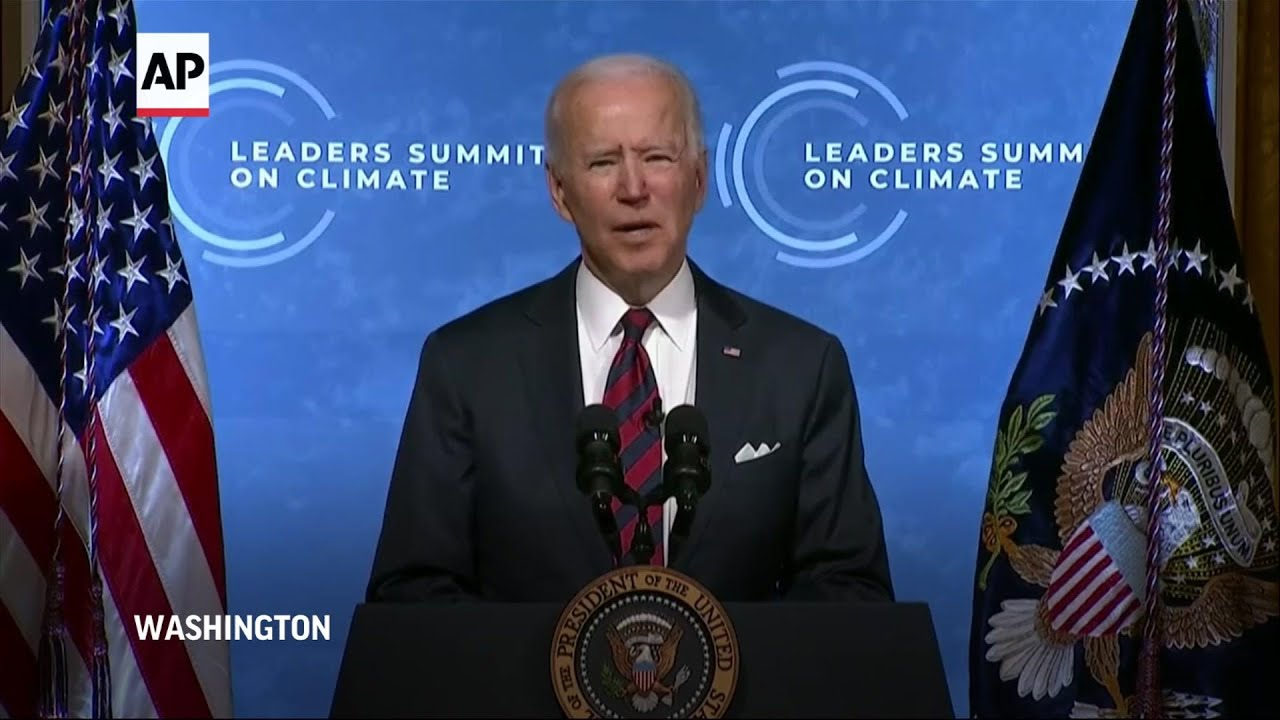 Biden: This is the decisive decade on climate