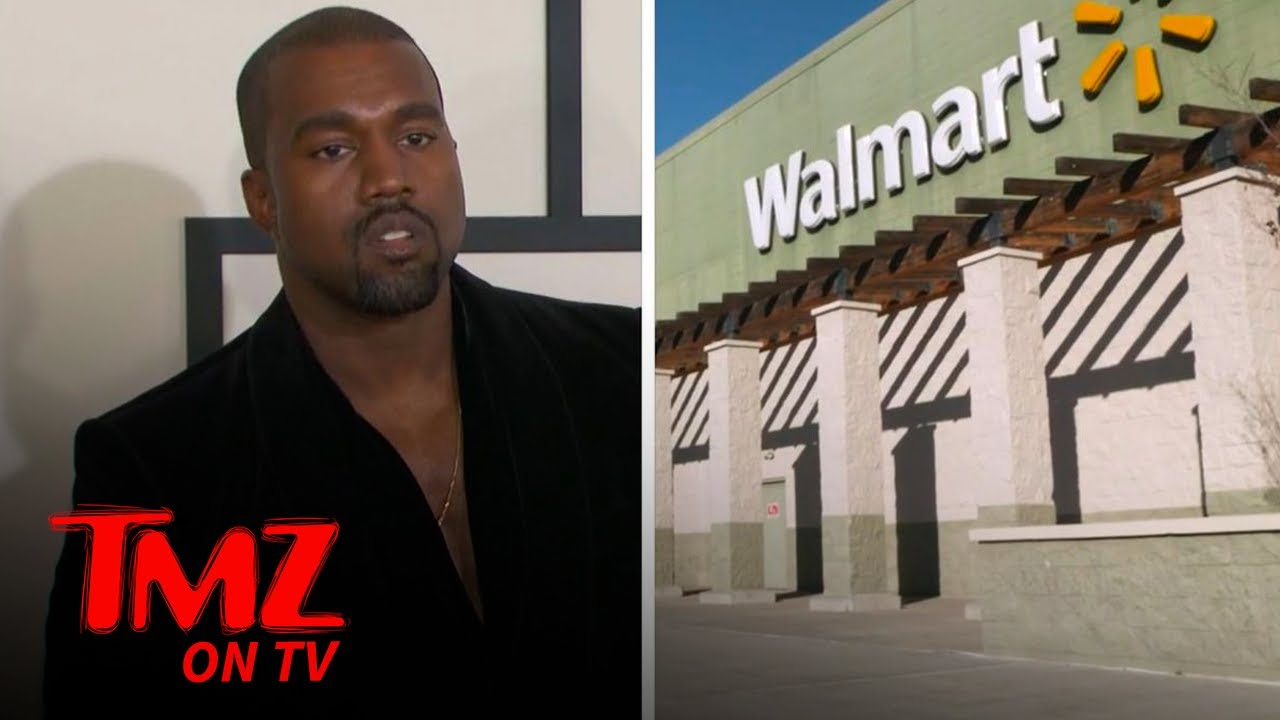 Walmart Blasts Kanye West's New Logo As A 'Lookalike' | TMZ TV