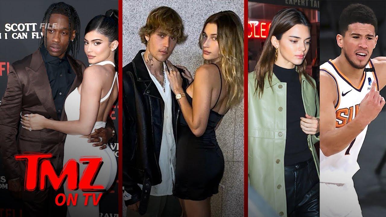 Kylie & Travis' Triple Date with Biebers, Kendall & Devin | TMZ TV
