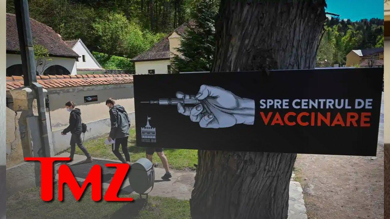 'Dracula's Castle' Offers Tourists Covid Shots | TMZ TV