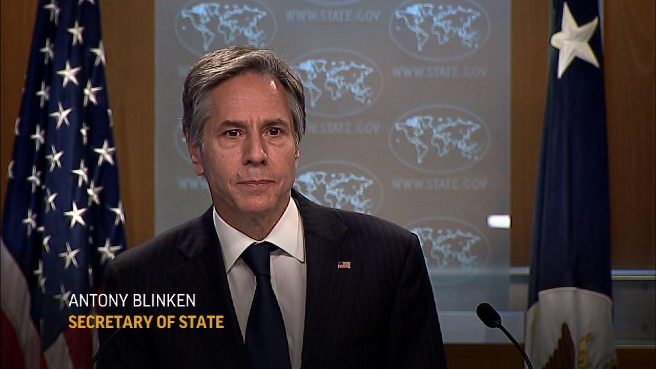 Blinken: Deeply concerned about violence in Gaza